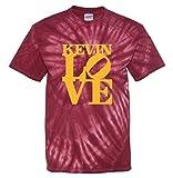 "The Silo TIE DIE MAROON Cleveland Love ""LOVE PARK"" T-Shirt"