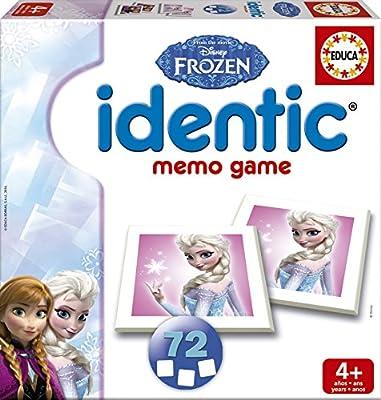 Educa Borrás Frozen - Identic, Juego de Mesa 16242: Amazon.es: Juguetes y juegos