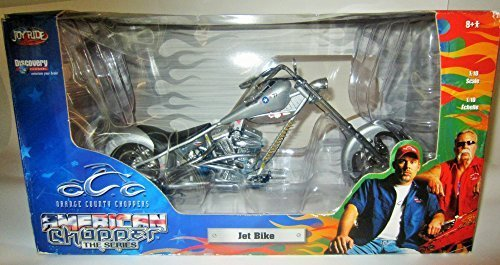 American Chopper: Jet Bike - 1:10 Scale Die-cast by Orange County Choppers (American Chopper Jet Bike)