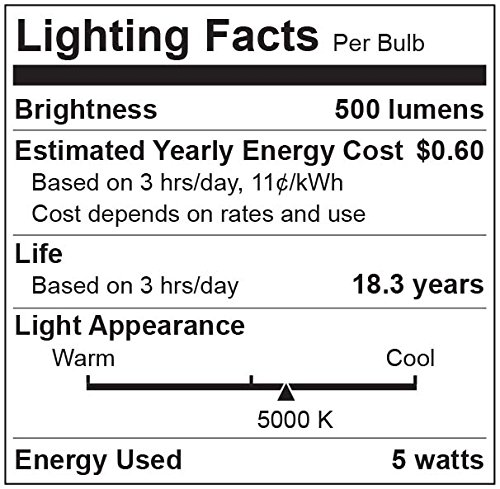 TCP-9W-LED-Light-Bulbs-60W-Equivalent-A19-E26-Medium-Screw-Base-Non-Dimmable-Daylight