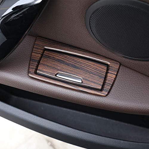 パイン材木目 BMW X1 F48 2016-2019用 ABSドア灰皿 スパンコール トリム装飾ステッカー アクセサリー カースタイリング