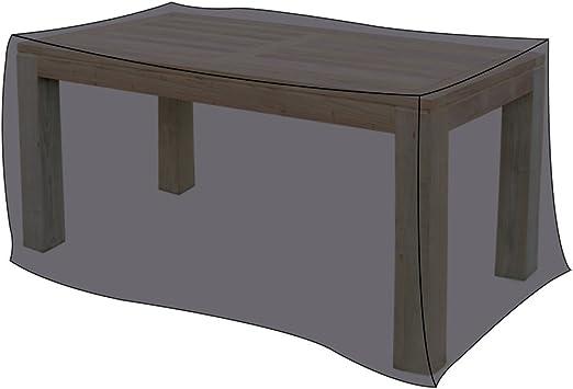 Carcasa 170 x 100 x 71 cm para mesas de jardín negro protectora: Amazon.es: Jardín