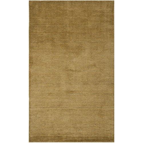 Himalayan Rectangle Rug - Safavieh Himalaya Collection HIM311C Handmade Green Premium Wool Area Rug (5' x 8')