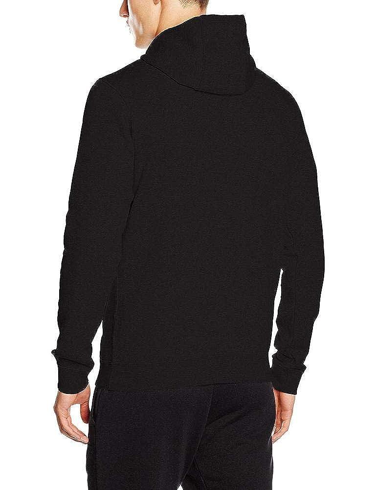 NIKE Mens Sportswear Half Zip Club Fleece Hooded Sweatshirt