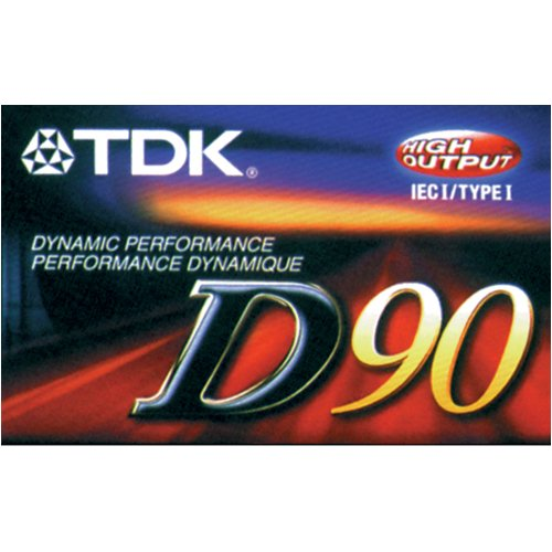 D90 - Cassette - 90 - Normal Bias Imation 020356201005 Accessory Consumer Accessories