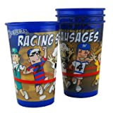 MLB Milwaukee Brewers Sausage Souvenir Cups (4-Pack), 20-Ounce