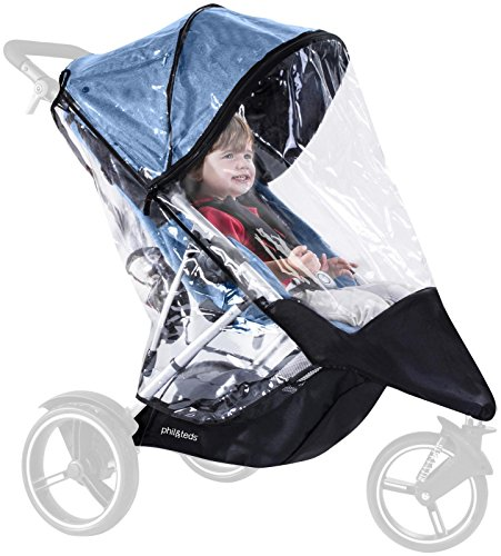 - phil&teds Storm Cover for Dash Stroller, Single or Double