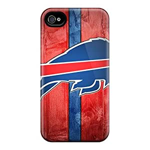 Perfect Cell-phone Hard Covers For Iphone 4/4s With Allow Personal Design Attractive Buffalo Bills Image CharlesPoirier