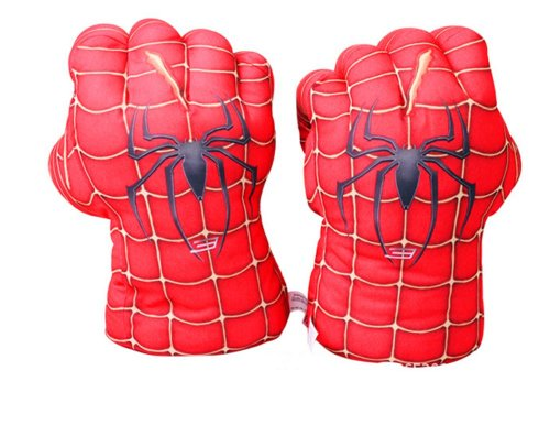 Gmasking Deluxe Spider-man Gloves Adult Smash Fists