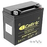 Caltric compatible with Agm Battery Skidoo Mxz X 600 Ho Sdi E-Tec 2009-2011 2014-2016