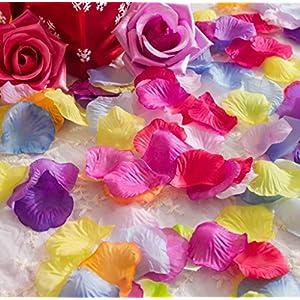 La Tartelette Silk Rose Petals Wedding Flower Decoration 2