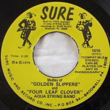 Whispering / Golden Slippers and Four Leaf Clover (Vinyl 45, 7 (Whispering Leaves)