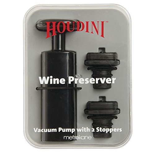 (TAYLOR PRECISION PRODUCTS,L.P. Houdini Wine Preserver Includes 2 stoppers W5577)