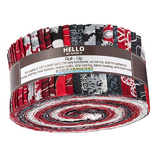 Holiday Flourish Silver Colorstory by Peggy Toole Roll up 2.5