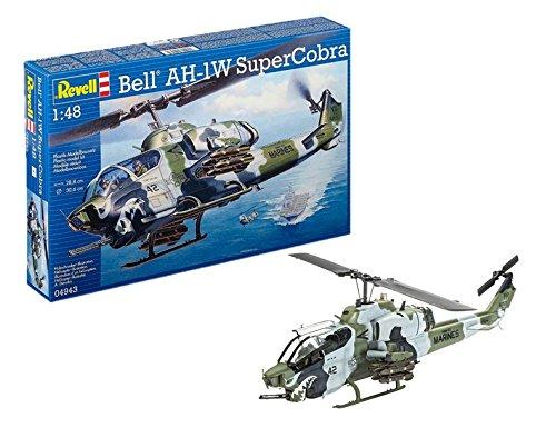 Revell Bell Ah-1w Supercobra Helicopter Model