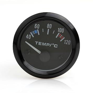 Instrumentos de coche, 12 V, 5 cm, universal, puntero de temperatura del