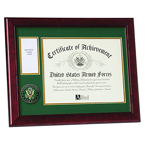 Allied Frame United States Army Medal and Award Frame by Allied Frame