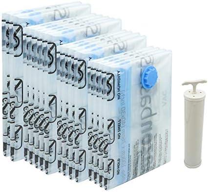AmazonBasics - Paquete de 15 bolsas de vacío para almacenamiento ...