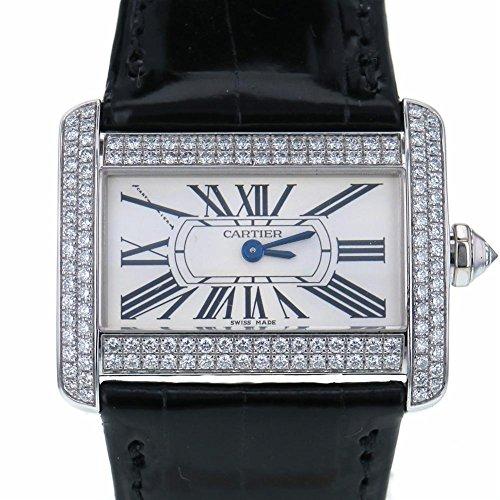 Cartier Tank Divan swiss-quartz womens Watch WA301236 (Certified Pre-owned)