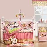Kids Line 5709BED8 Dena Happi Tree 8-Piece Crib Bedding Set