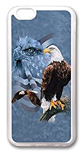 DAOJIE Generic iPhone 6 Cases, Weight Lifting Eagle Usa Flag Custom Design Hard plastic shell Case Cover for iPhone 6 plus 5.5 inch Screen wangjiang maoyi