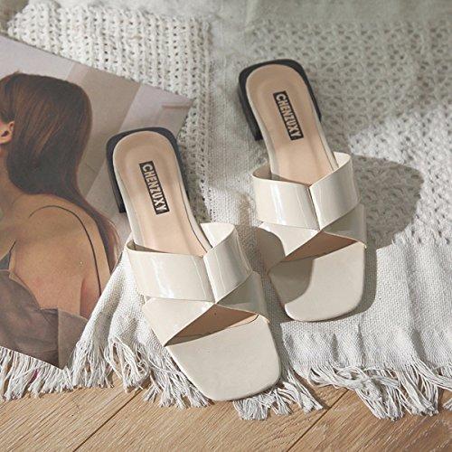 Weiß Sandalen Sportbekleidung Damen Strand Crossover Reis Slipper Schuhe Und QPSSP Schuhe 38 Sandalen 7wxBHK