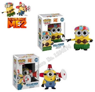 Amazon.com: Funko POP vinilo figura de acción Hula Minion y ...