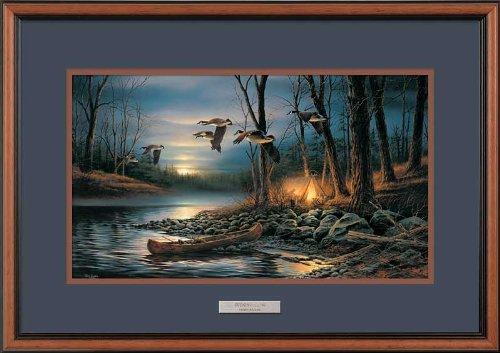 Evening Glow II Framed Encore Print by Terry Redlin