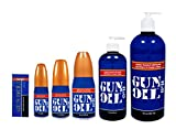Gun Oil Water Based H2o Personal Lubricant Sex Lube 32 Oz