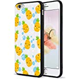 7bdb893b58d0 Dairnim iPhone 6S Case, iPhone 6 Case, Cute Pineapple Pattern Ultra Slim  Hybrid Hard