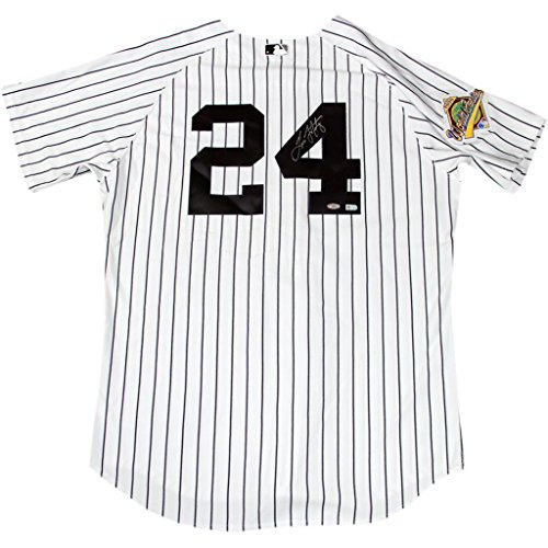Steiner Sports MARTJES001996 Tino Martinez Signed New York Yankees Authentic Pinstripe Jersey With 1996 Patch (MLB Auth)