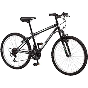 "24"" Roadmaster Granite Peak Boys Mountain Bike - Gray/Green"