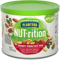 3 Pack Planters NUT-rition Heart Healthy Mix 9.75-oz. Cans