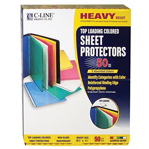 C-Line Top Loading Polypropylene Sheet P - Yellow Green 50 Sheet Shopping Results