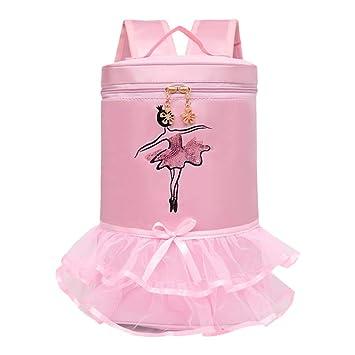 Meijunter Bolsa de Ballet para Niños - Ballet Bag Bailarina Portátil