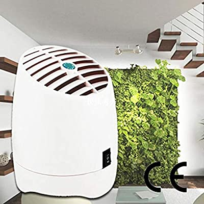 DW&HX Mini Blanco Uso casero Purificador de Aire, Portátil Y Iones Negativos Iónico Casa Oficina y Coche Filtro de Aire-Blanco 120 * 100mm: Amazon.es: Hogar