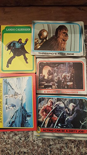 1980-1983 Topps Star Wars Non-sport Used Trading Cards Lot of (50) Original Vintage