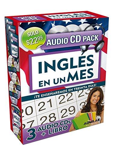 Inglés en 100 días - Inglés en un mes - Audio Pack (Libro + 3 CD's Audio) (Ingles en 100 Dias) by Aguilar