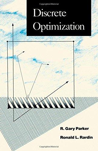 Discrete Optimization (Computer Science and Scientific Computing)