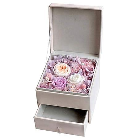 Flor de jabón Never Withered Rose Gift Box Flores ...