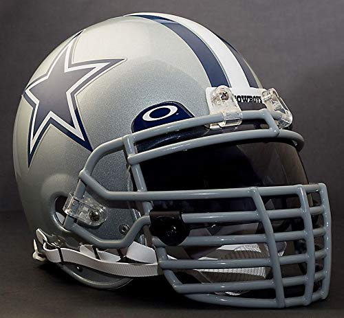 Riddell Custom Dallas Cowboys NFL ProLine VSR-4 Deluxe Replica Football Helmet ()