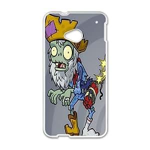 DIY Phone Cover Custom Plants vs. Zombies For HTC One M7 NQ5342346