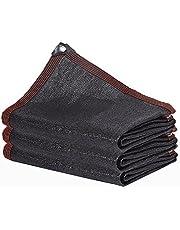 LIXIONG Zonneschaduwdoek, schaduwnet, anti-UV-metalen gesp, stretch anti-rimpel, gebruikt voor gewasteelt balkon zonnekamer, maat maatwerk