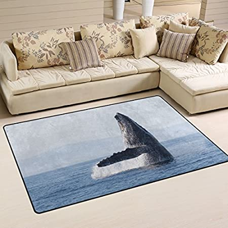 51lgG3nw8iL._SS450_ Whale Rugs and Whale Area Rugs