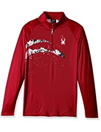 Spyder Boy's Limitless 1/4 Zip Dry Web T-Neck