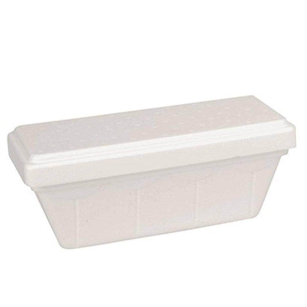 Unidades 60 bandejas térmicas CC 750 de poliestireno blanco para helado Base + tapa Ice Creme Cup: Amazon.es: Hogar