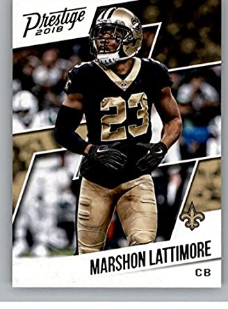 2018 Prestige NFL  97 Marshon Lattimore New Orleans Saints Panini Football  Card f727867c5