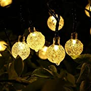#LightningDeal 64% claimed: Globe Solar String Lights