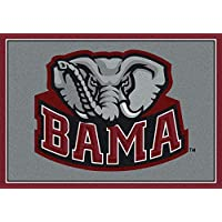Alabama Crimson Tide NCAA College Team Spirit Team Area Rugs