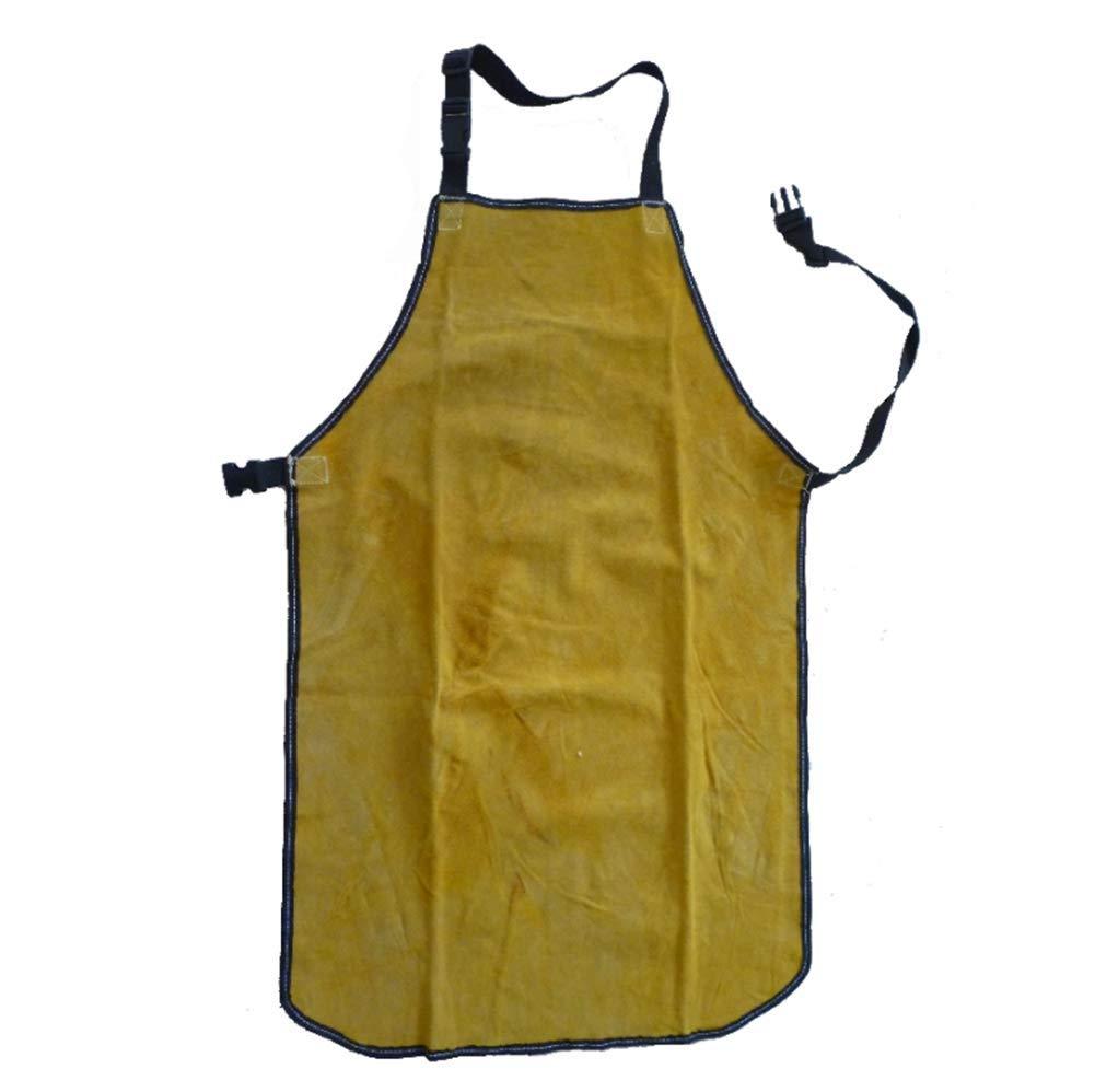 WQHJM Leather Welding Apron Heat Resistant Work Tool Adjustable Blacksmith Thicken
